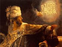 Rembrandt's 'Belshazzar's Feast' (1635)