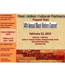 14th Annual Black History Month Concert