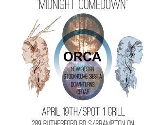 ORCA's Midnight Comedown Album Release Show