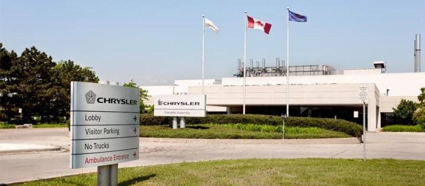 Brampton FCA Assembly Plant