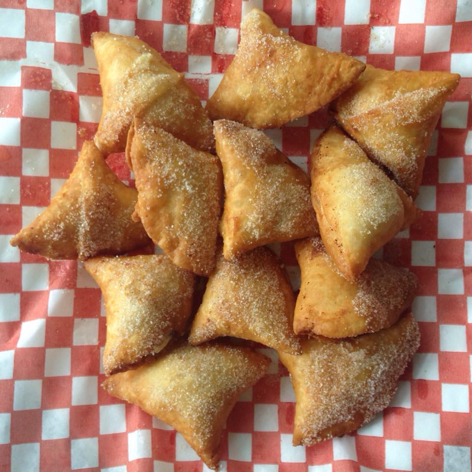 Rasmali Cheesecake Samosa