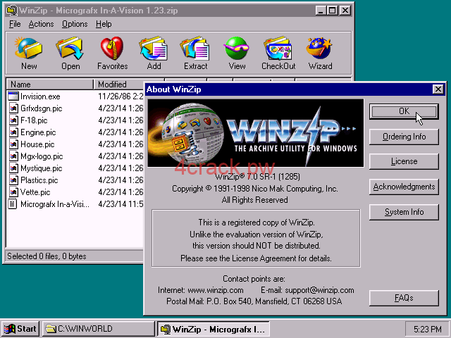 WinZip Pro 23.0 Build 13431 Crack with Registration Keys [100% Working]