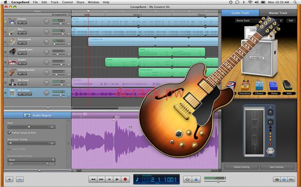 Prevention and Functionalities of Garageband