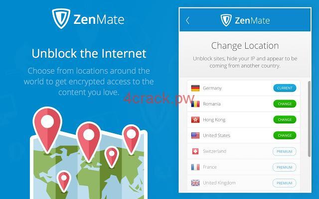 Important Features ofZenMate Premium Keygen
