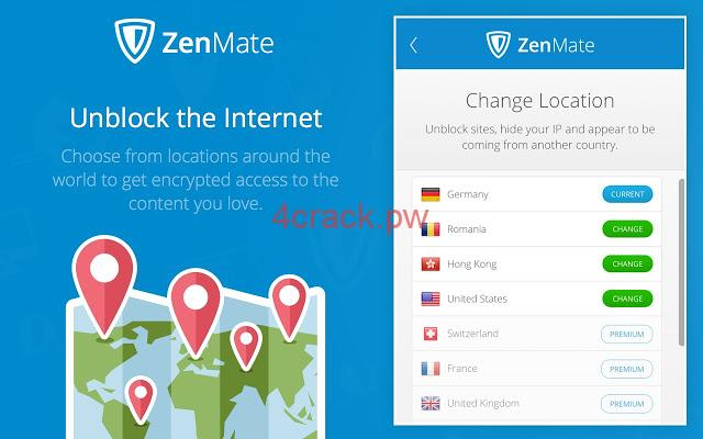Important Features of ZenMate Premium Keygen