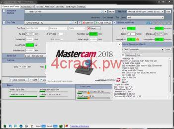 Mastercam 2018 Crack with Keygen Torrent Download