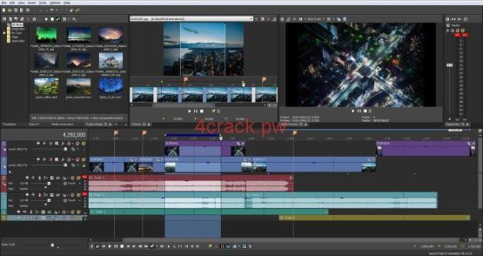 Sony Vegas Pro 2020 CrackWith Serial Key Free Download