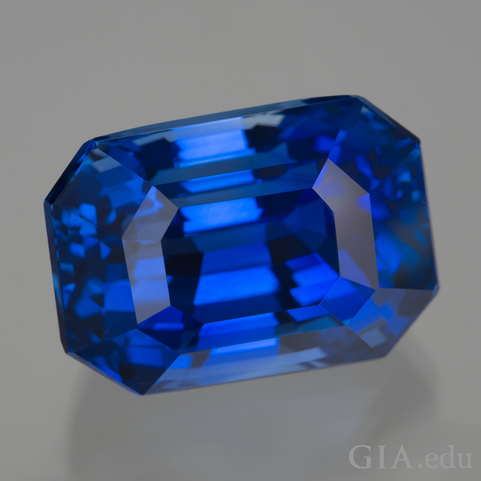 33.16 ct blue sapphire