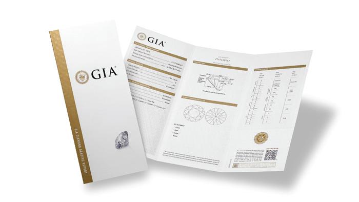 GIAの鑑定書