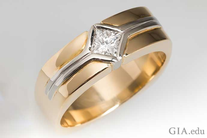 Mens Wedding Bands Pick One That Suits His Style