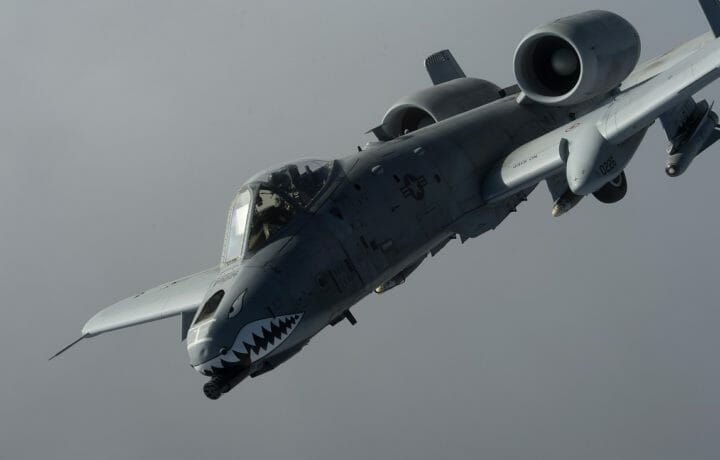 Boeing Awarded 999m Usaf Contract For A 10 Wing