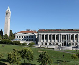 Photo of UC Berkeley Campus Buildings