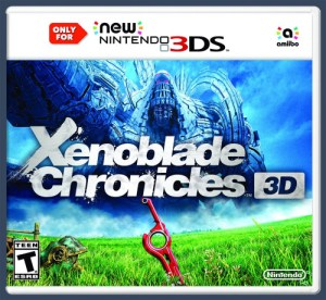 Xenoblade case New 3DS