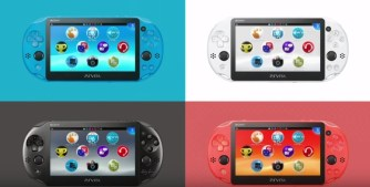 PS Vita 4 colours