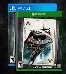 Batman Return to Arkham cover