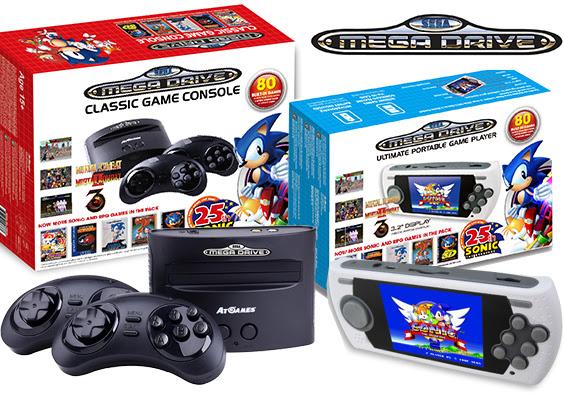 Sega Megadrive consoles