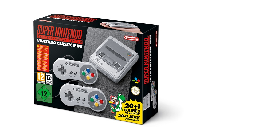 Nintendo SNES Classic Mini announced and sells out fast