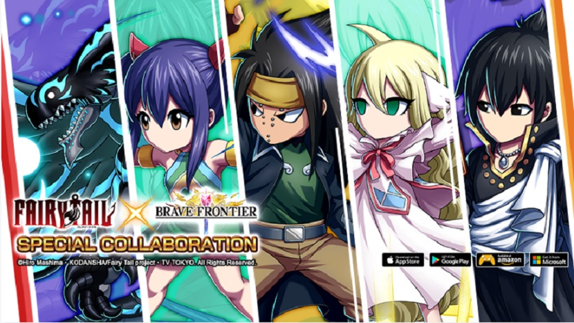 Fairy Tail Heroes Returns to Brave Frontier in New Event