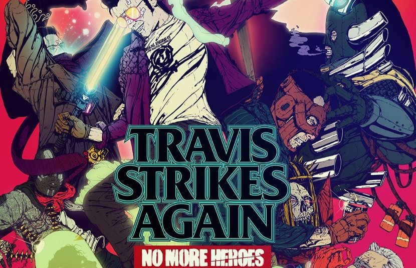 Travis Strikes Again: No More Heroes out today on Switch.