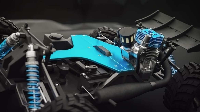 RC-Car 3D Animation
