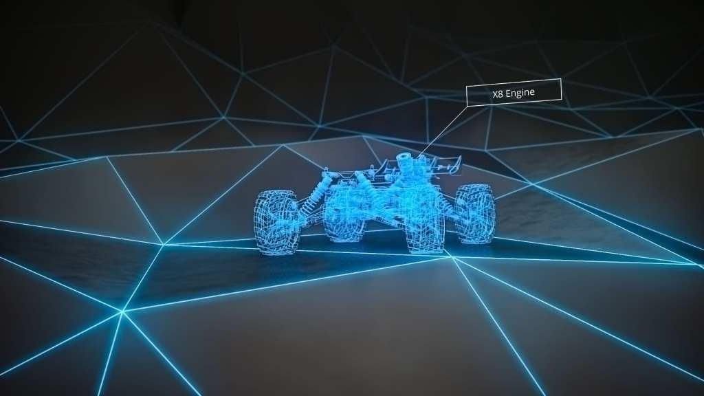 RC Car 3D Visualisierung Animation