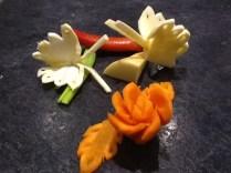Turnip Butterflies and Carrot Flower