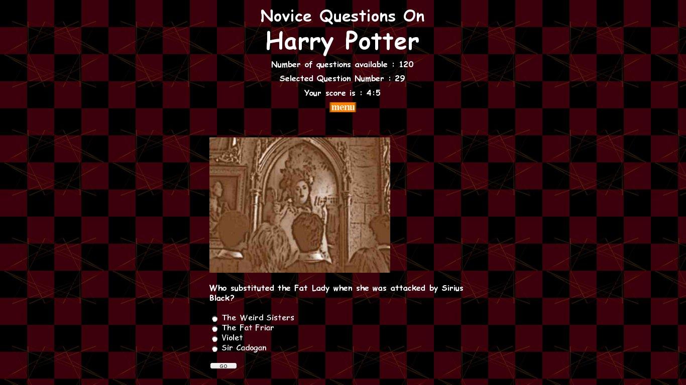 Quiz Do Filme Harry Potter