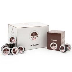 CUORIL Decaffeinato /Espresso system Milani 16ks/