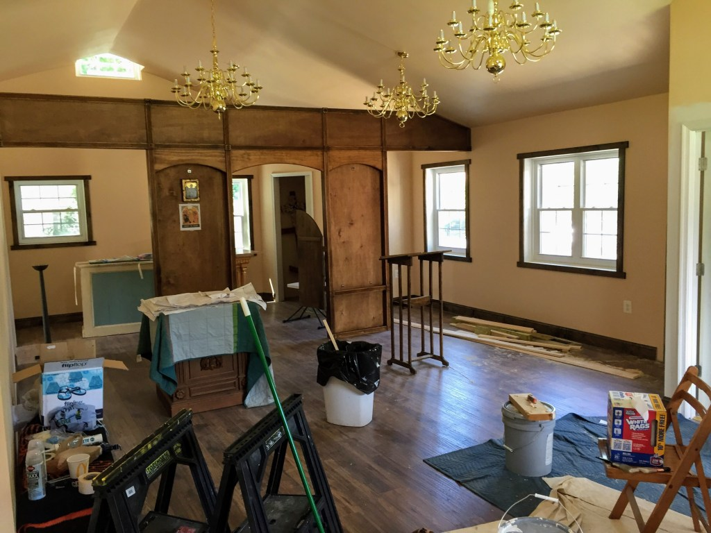 Unpacking and setting up — New Building Project
