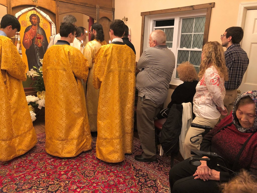 Blessing of Red Eggs - Great and Holy Pascha, 2019