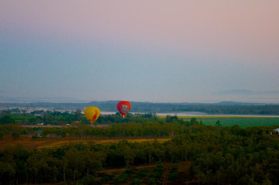 凱恩斯遊記:熱氣球 (Balloon Adventures) | 一路跌跌撞撞...