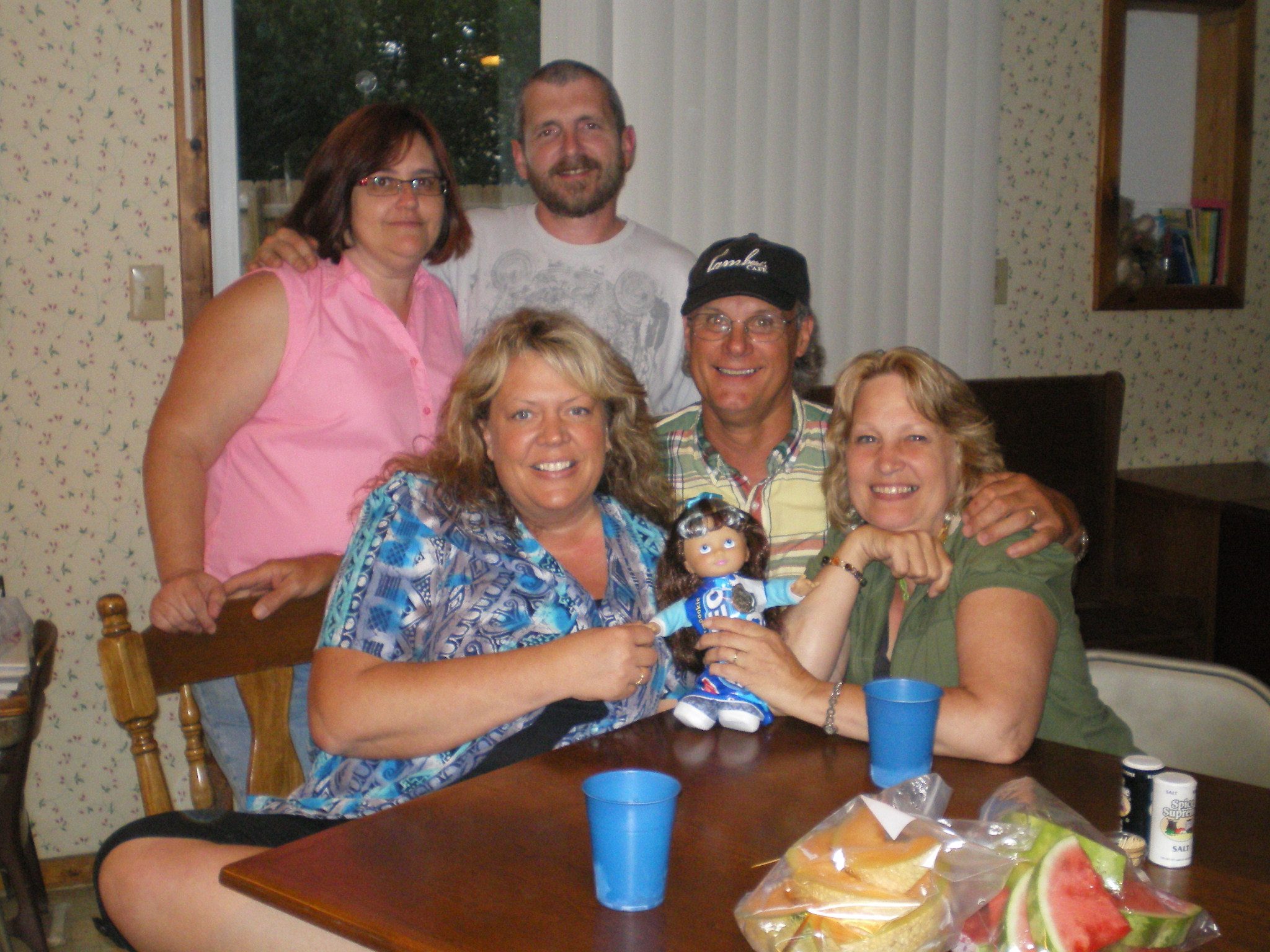 me & Hubs/Deb/ Dale and Gracie Hill