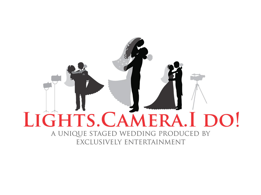 Lights. Camera. I do!