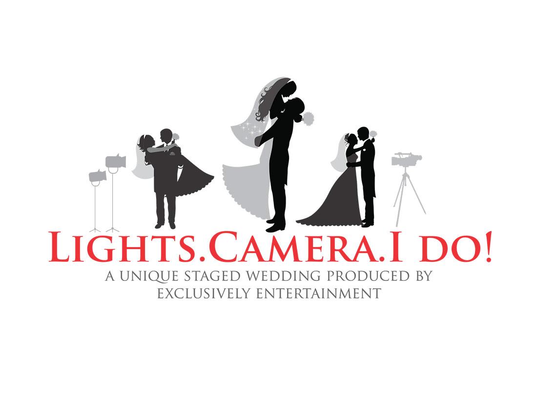Lights. Camera. I do!