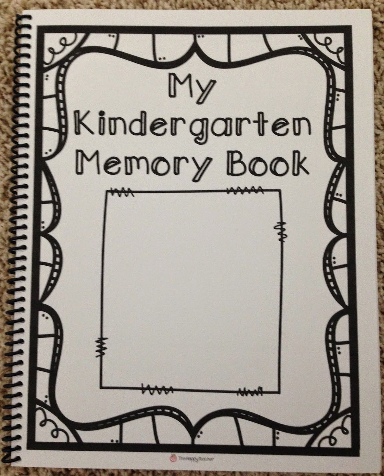 Free Printable Preschool Memory Book