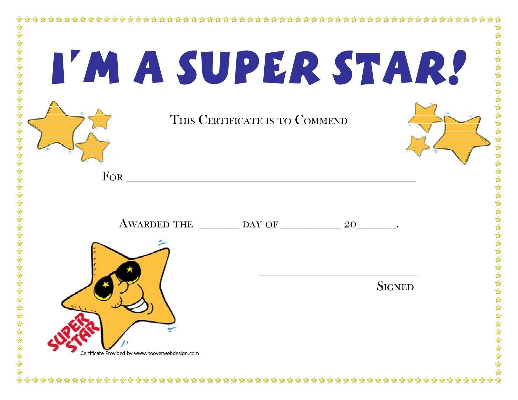 Free Printable Honor Roll Certificates Kids