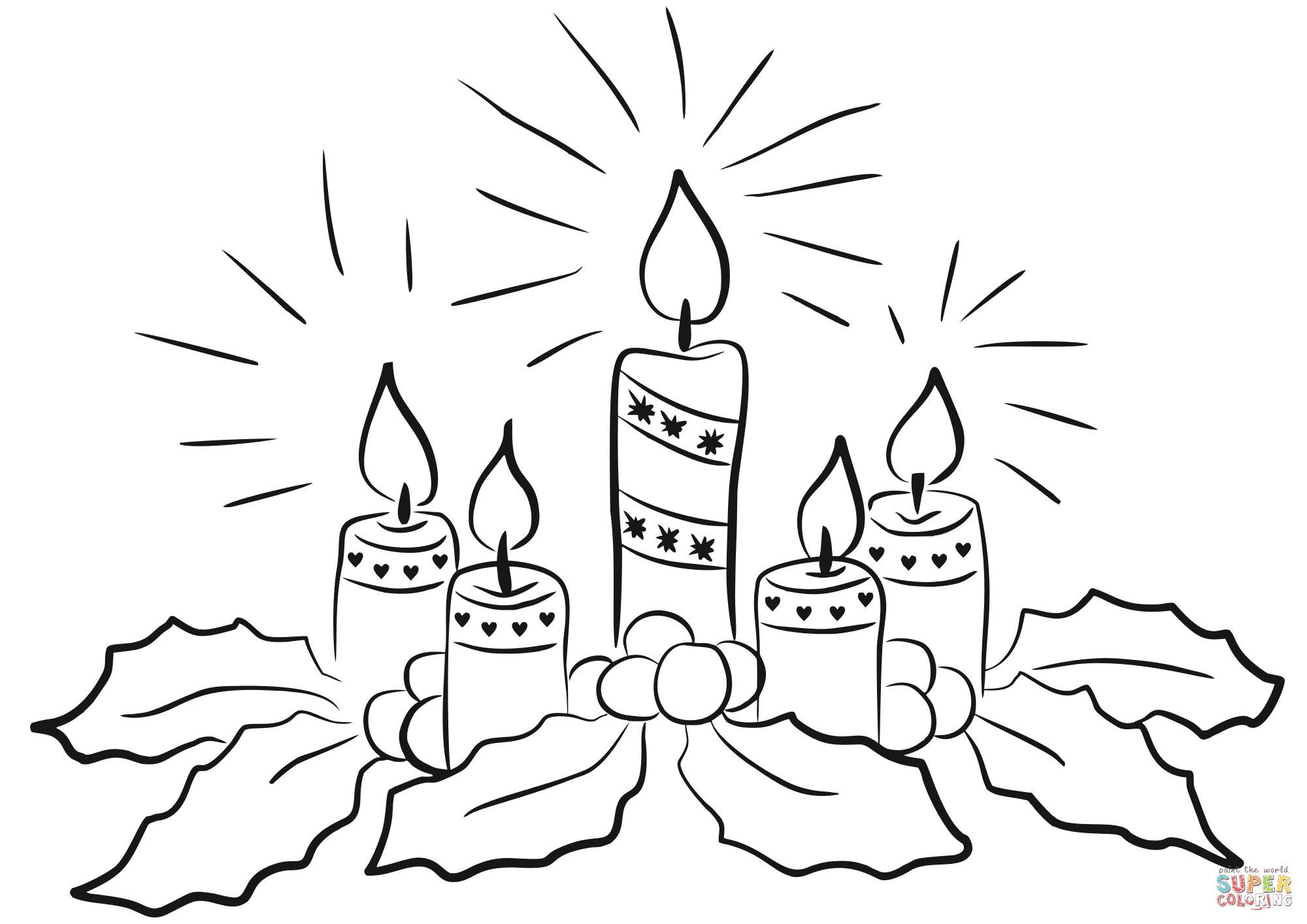 Free Printable Advent Wreath