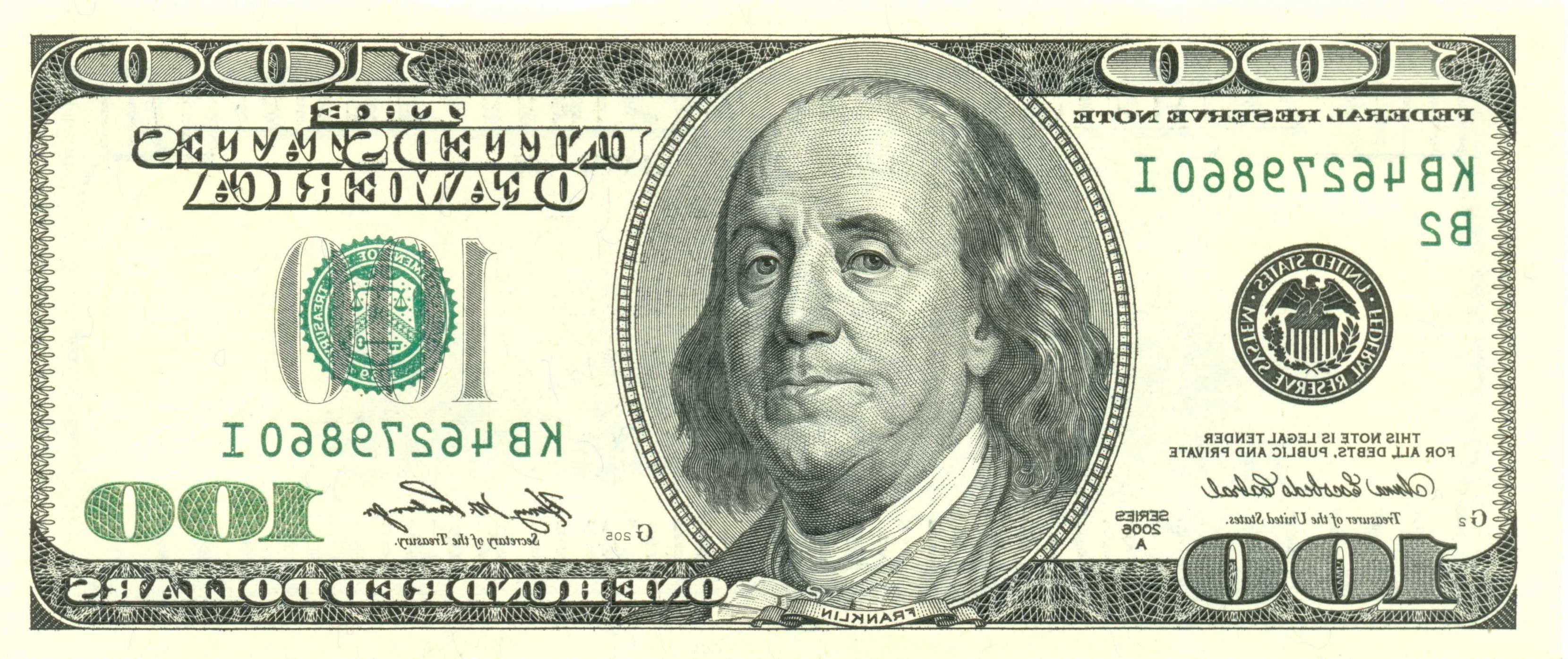 Free Printable 100 Dollar Bill