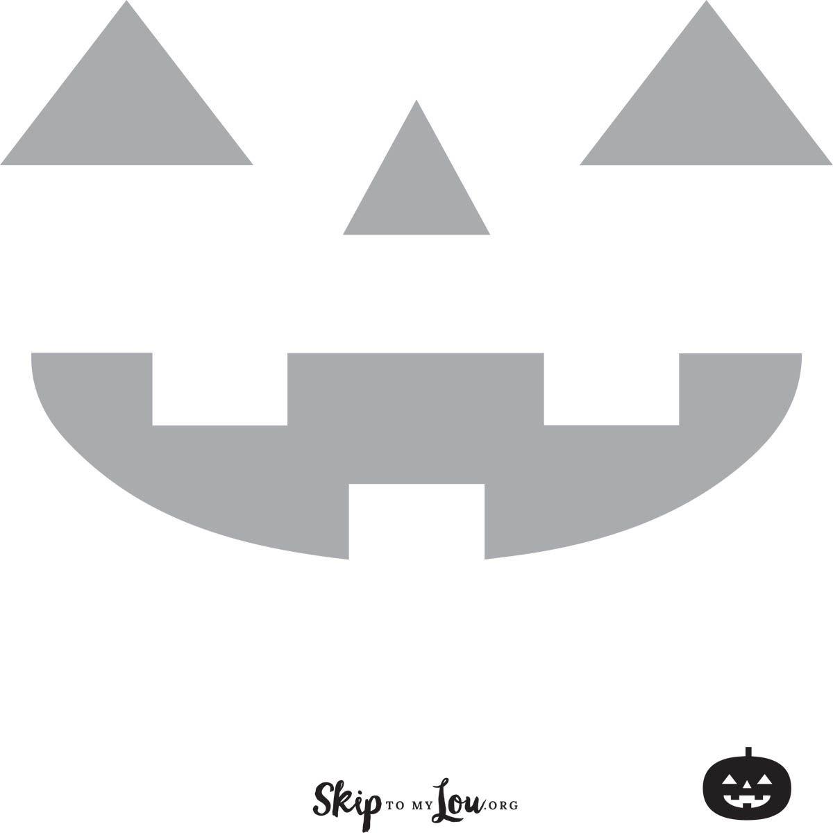 Small Pumpkin Stencils Free Printable
