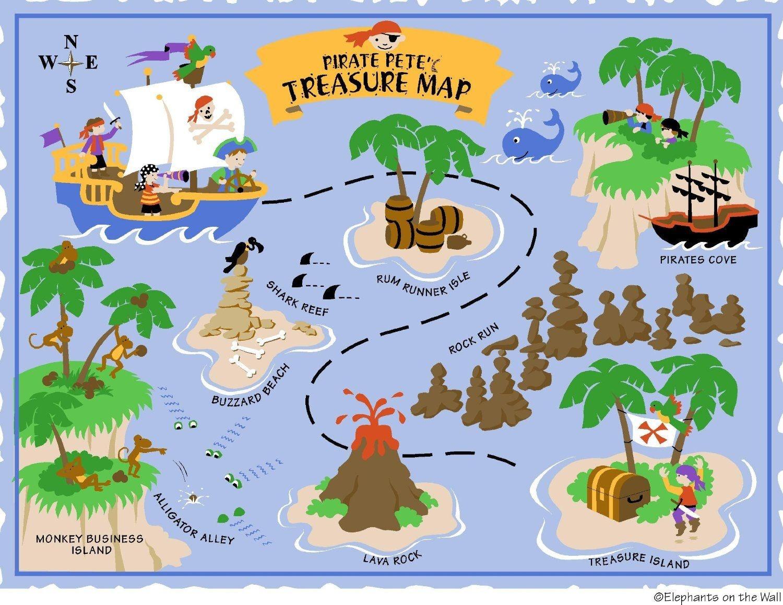 Free Printable Pirate Maps