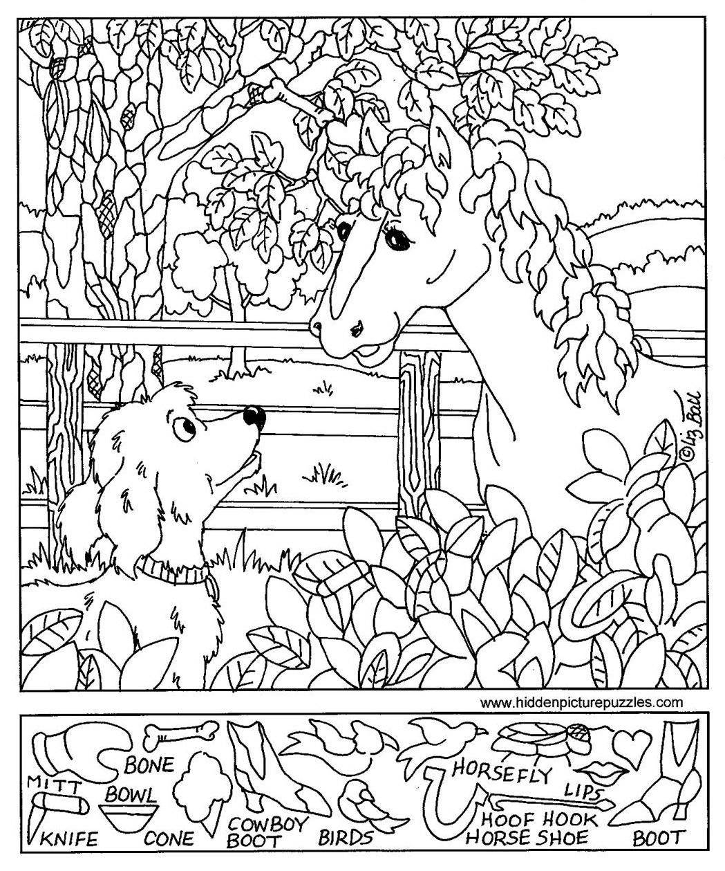 Free Printable Hidden Pictures