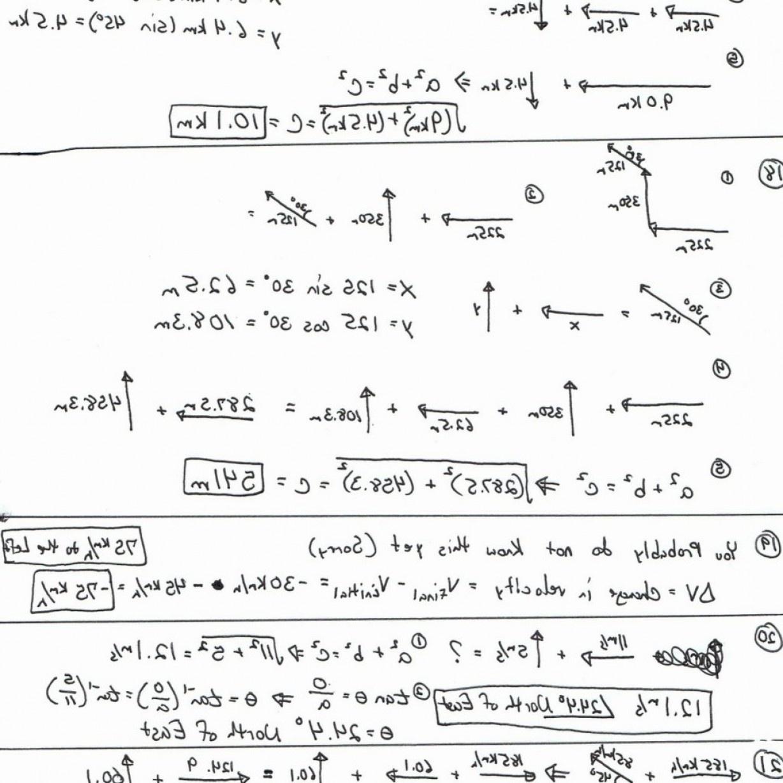Free Printable Physics Worksheets