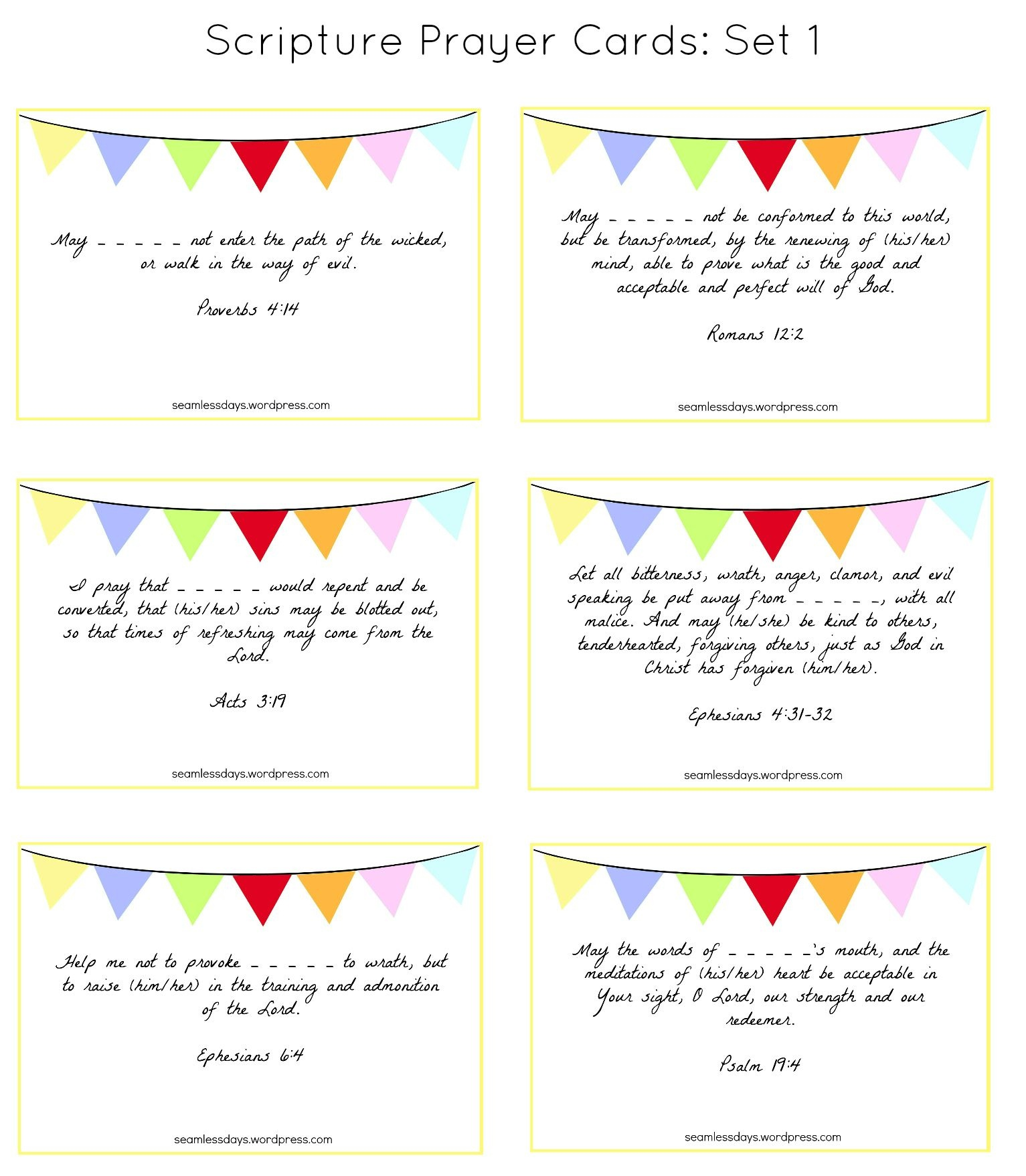 Printable Our Lady Of Fatima Prayer Cards