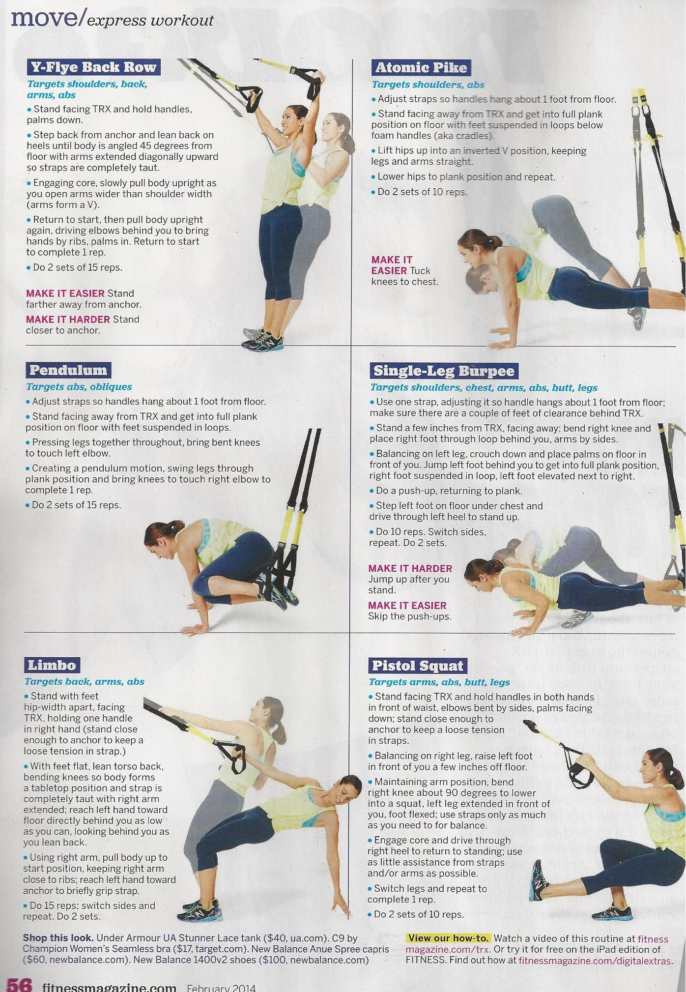 Your 20 Minute Total Body Trx Workout