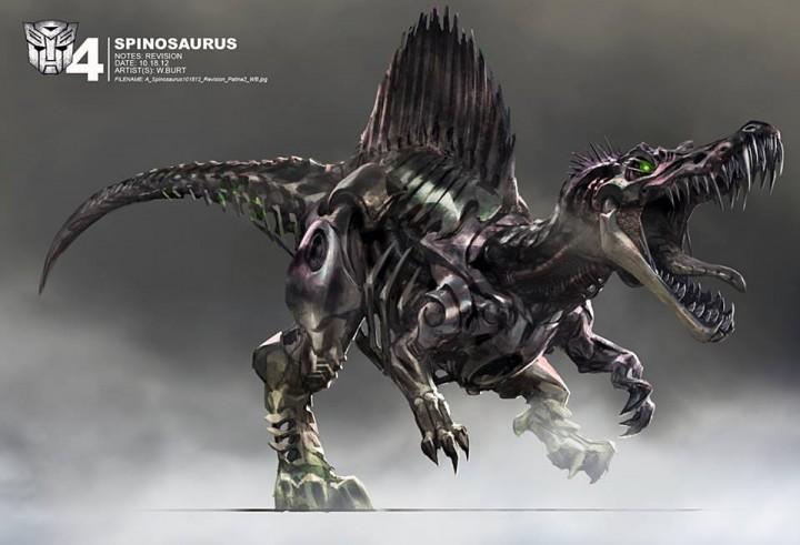 dinobots concept dari transformers 4  age of extinction