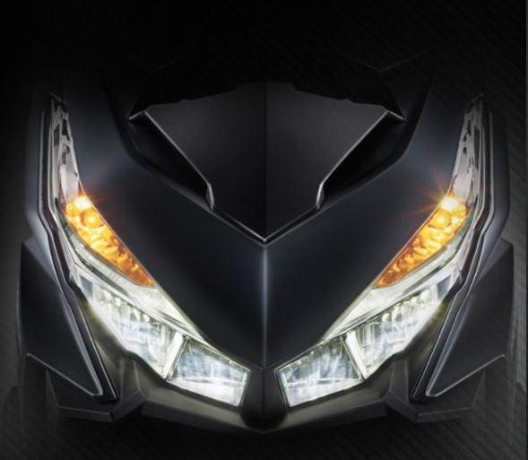 Fitur Honda Vario 150 - Dual Keen Eyes LED
