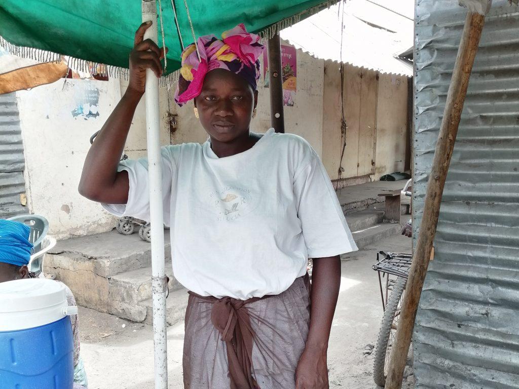Marktverkoopster Gambia