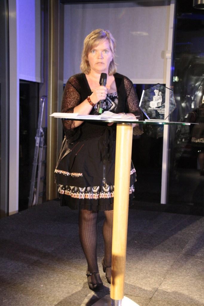 speech bij Award