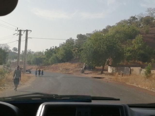 de weg naar Sare Wallom