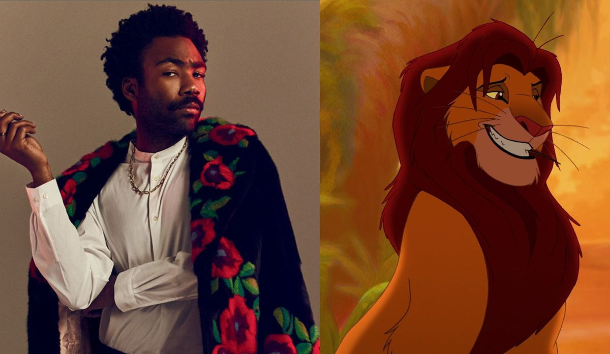 Disney's Live-Action Lion King Remake Casts Donald Glover As Simba; Mufasa Revealed